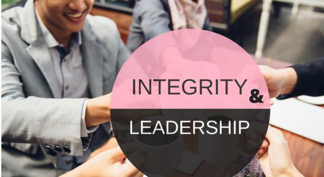 Integrity and Leadership