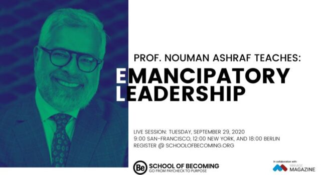 Nouman Ashraf Emancipatory Leadership webinar series on Inclusive activities